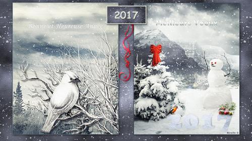 Fond d'Écran pour Nouvel An 2017