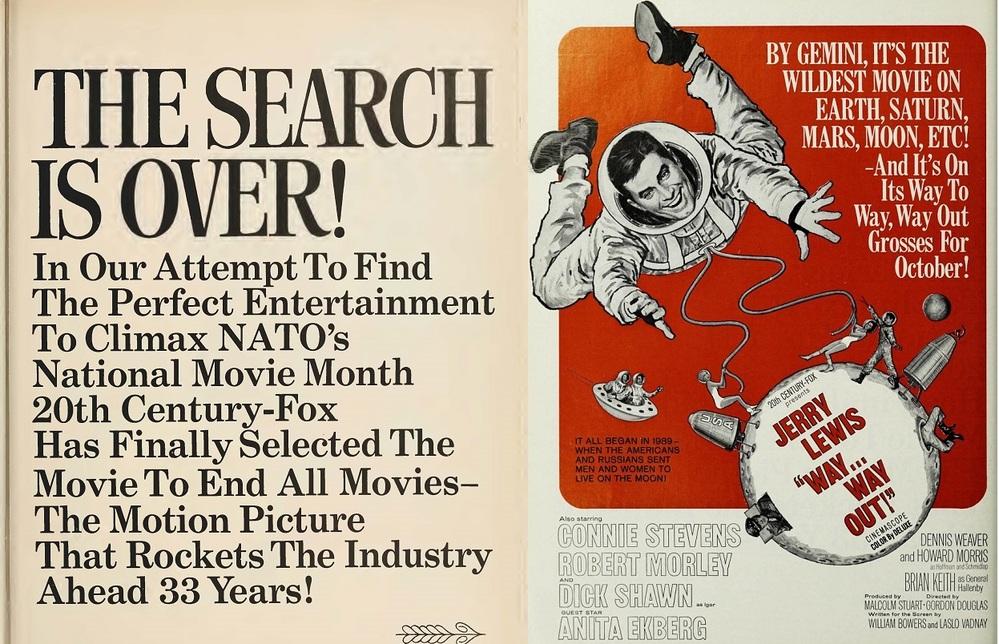 WAY WAY OUT box office usa 1966