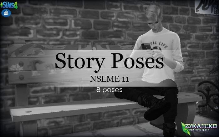 Story Poses - NSLME 11