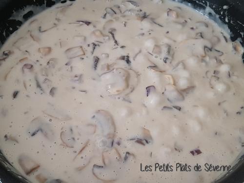 Crème de champignons de Paris