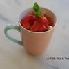 Mug pomme fraises