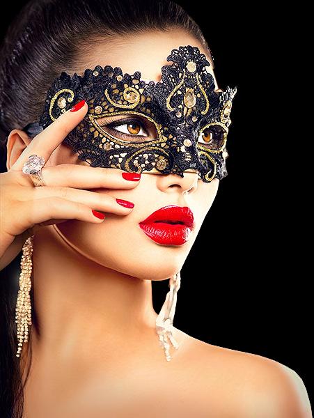 Tubes femmes masquées création 4