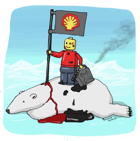 Lego et Shell