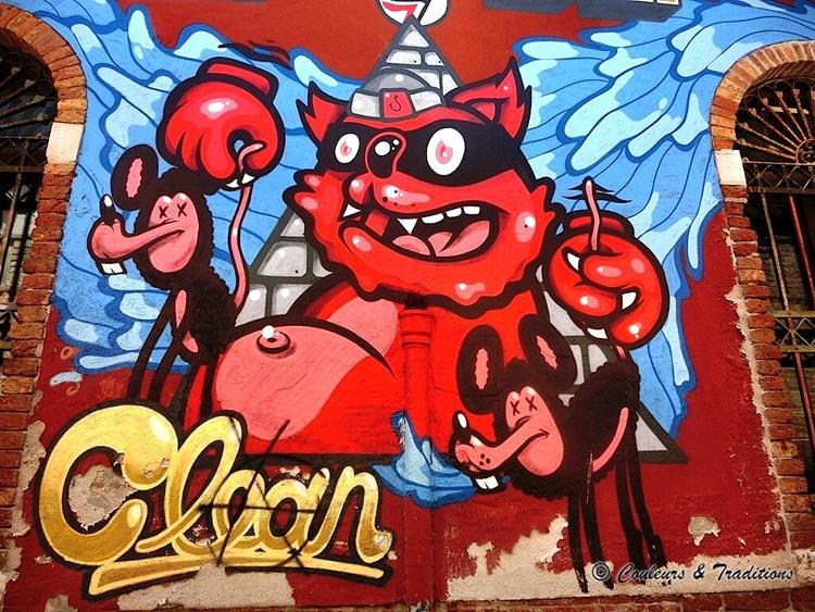 Street Art in Venise