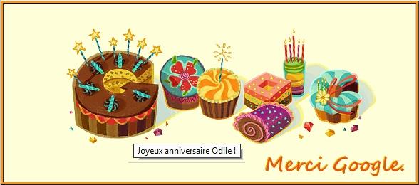 Merci pour tous vos voeux d'anniversaire !