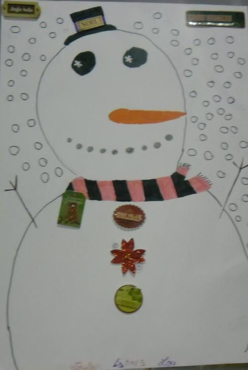 arts visuels : Noël - CM