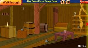 Jouer à Wooden novel house escape