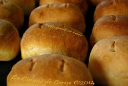 Délicieux petits pains de table
