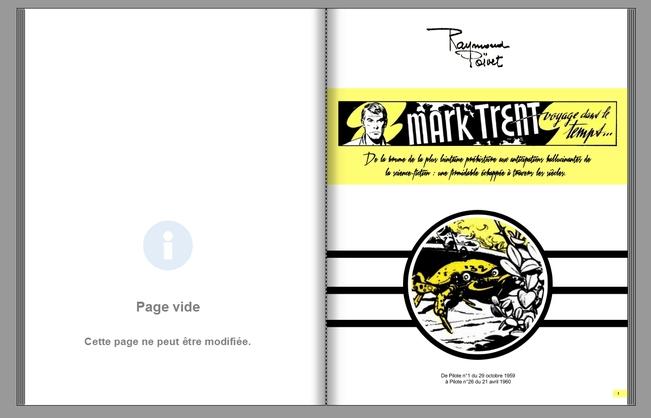 Voyage dans le temps, Mark Trent de Raymond Poïvet