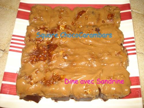 Des Squares Choco-Carambar
