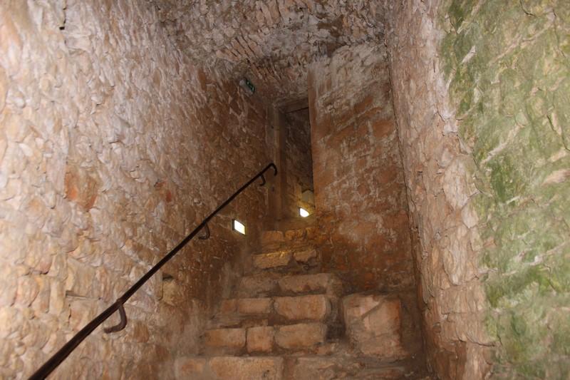 L'intérieur du Château de Bonaguil