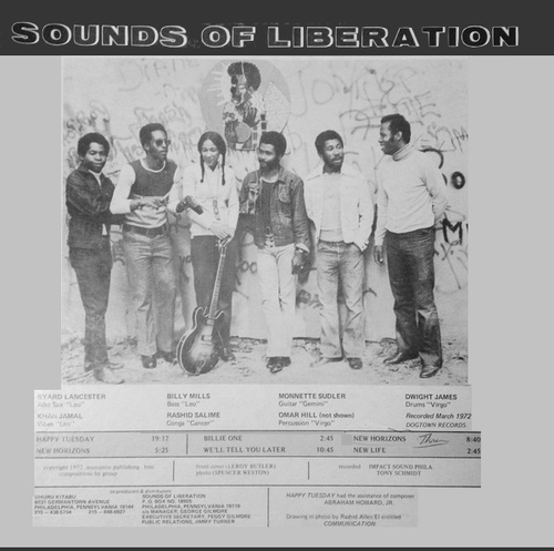"The Sounds Of Liberation : Album "" New Horizons "" Dogtown Records ‎FW9683 [ US ]"