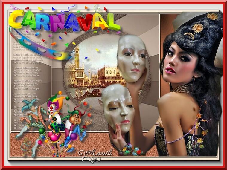 Le défi pour Lilimaya  Carnavalesque ,