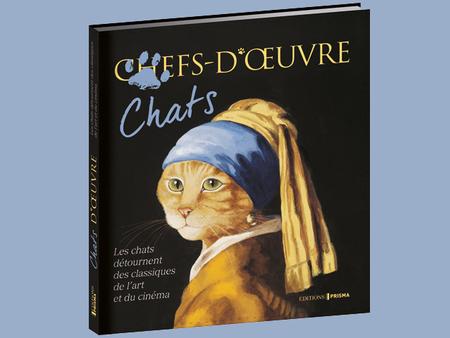 Chats-d'oeuvre - Les chats détournent l'Art