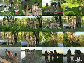 Galitsin Teens Collection. Twins interview 2. (Katia, Twins & Valentina)