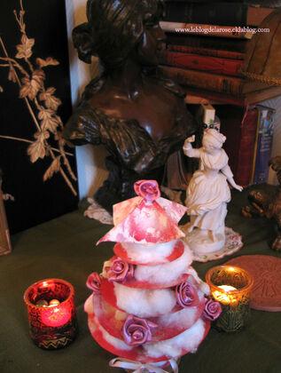 Un sapin de Noël fait-maison/A DIY Christmas tree