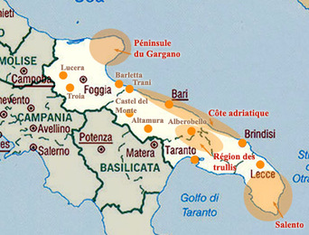 """**      L'ITALIE  du SUD  :   """"LES POUILLES"""" ..**"""