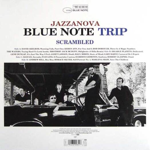 Blue Note Trip Volume 5 Jazzanova : Scrambled/Mashed CD Blue Note Records 0946 360985 2 4 [ NL ]