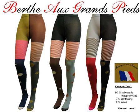 various colors latest online store BERTHE AUX GRANDS PIEDS - Le blog des magasins OKO