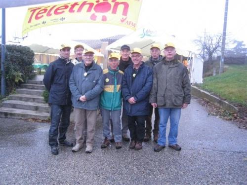 Participation du CCR au téléthon 2011.