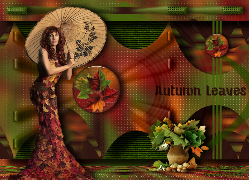 Tutorial Cre@nnie ~ Autumn Leaves