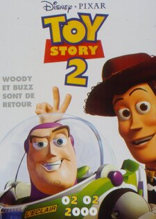 Toy Story 2 BOX OFFICE FRANCE 2000