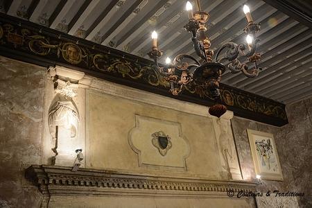 Interieur du chateau de Mauriac