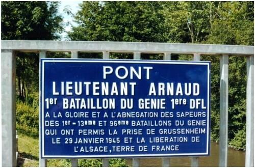 * Fin de la campagne d'Alsace : 1ère DFL et 2e DB unis dans les rudes combats de Grussenheim