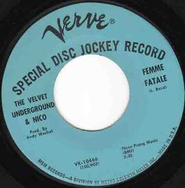 Side by Side # 36 : Femme Fatale - Velvet Underground/ Aloe Blacc