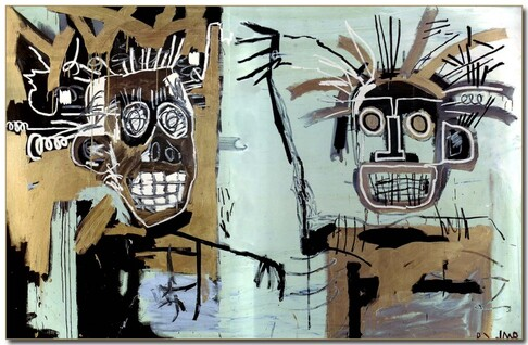 Basquiat-the-heads-of-gold-1982