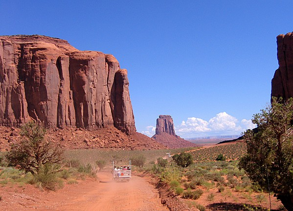 Monument Valley Jeep