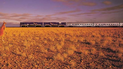 Un billet de train pour... - Le Sud de l'Australie