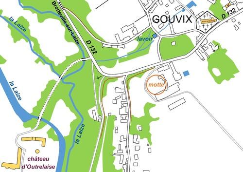 LES REMPARTS DE GOUVIX (Calvados)