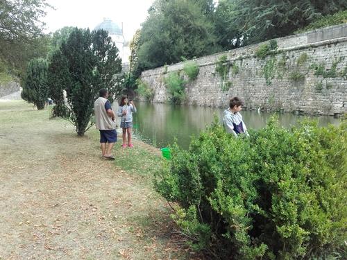 Les journées d'initiation à la pêche.