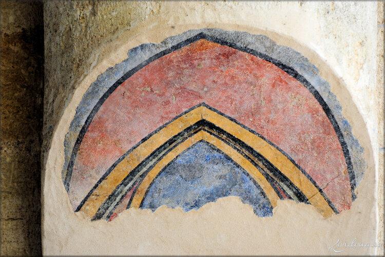 Photo des Fresques de l'Abbaye Notre-Dame de Fontevraud