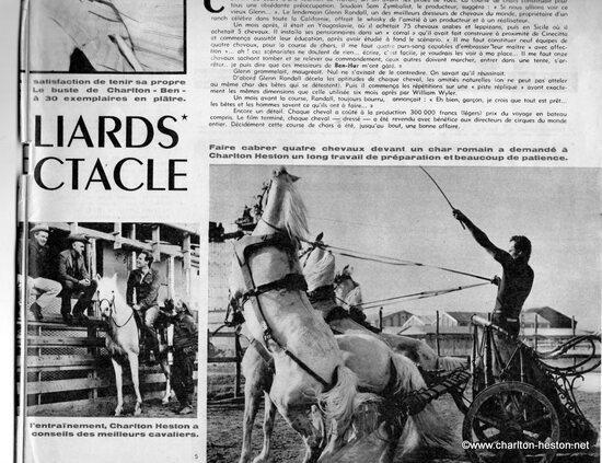 BEN-HUR_CINEMONDE N° 1334 SPECIAL DU MARDI 1er MARS 1960