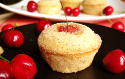 financiers cerise