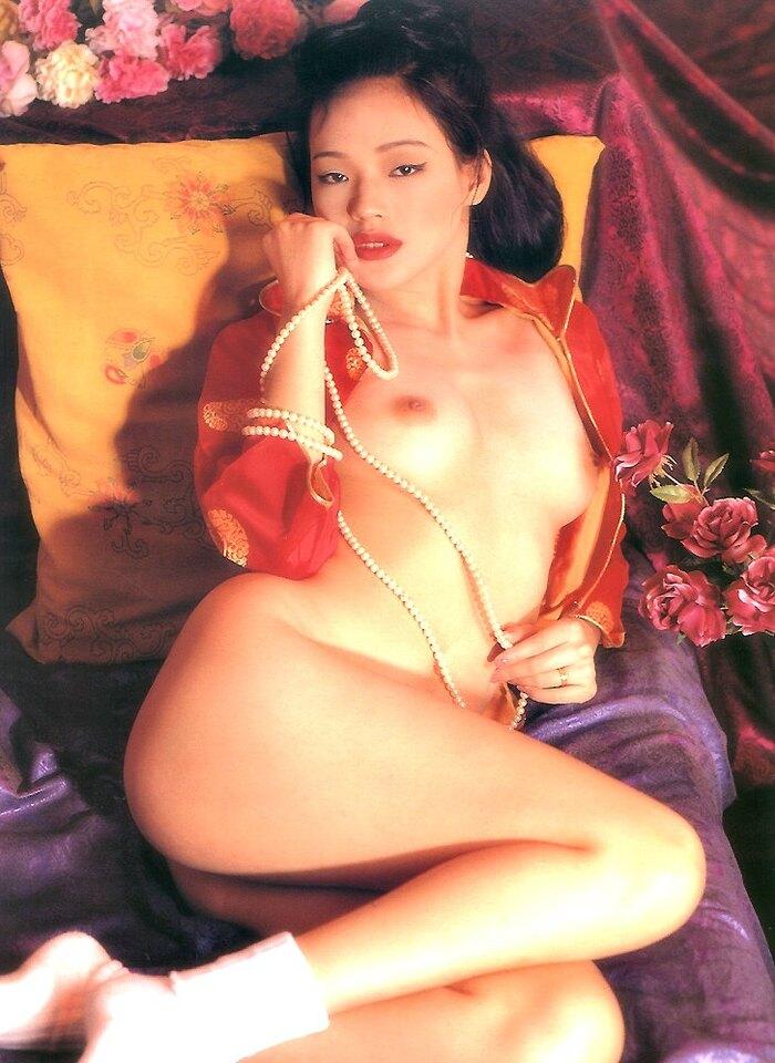 Hsu Chi (舒淇) Shu Qi, Penthouse (Hong Kong), February 1995