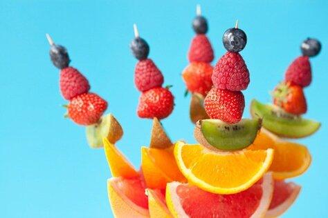 La consommation des fruits à jeun