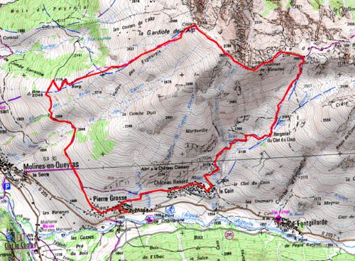 Gardiole de l'Alp (2788 m)