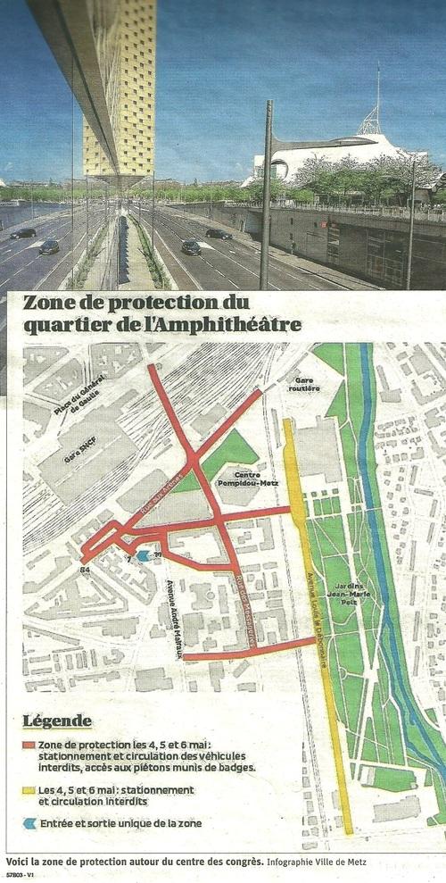 Le G7 à Metz....