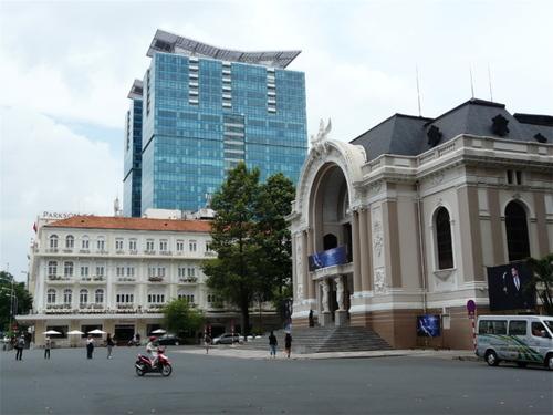 le théatre municipal de Saïgon