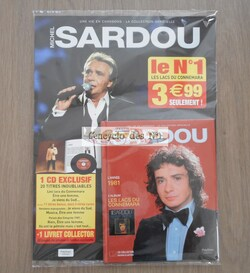 N° 1 Michel Sardou la collection officielle - Lancement