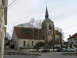 L'église de Jouy-sur-Morin