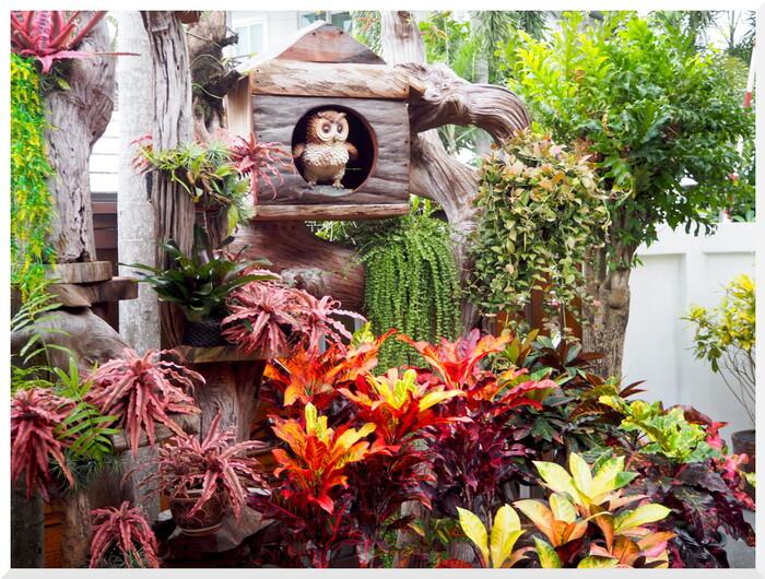 Photos de Thaïlande. Une maison peu ordinaire.