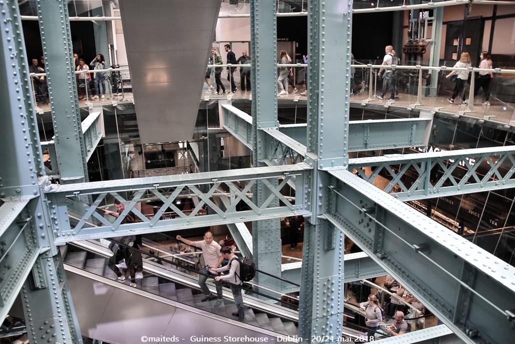 Dublin - Irlande (9)  Guinness Storehouse