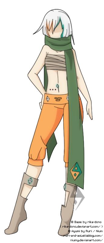 Ayumi [4] {shippuden x clothes version}