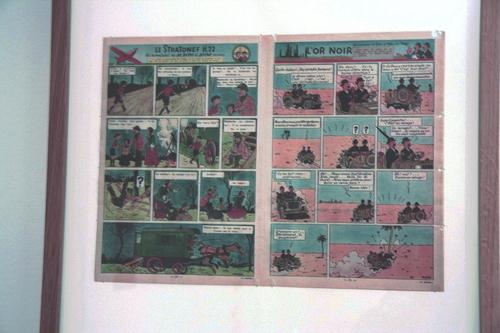 A la découverte de Tintin et Hergé
