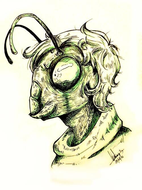 Les insectes humanoïdes