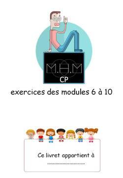 MHM exercices en livrets